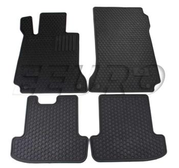 Floor Mat Set (All-Weather) (Black) Q6680713 Main Image