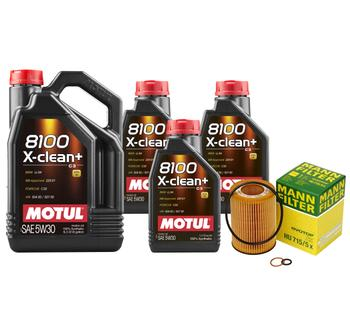 Engine Oil Change Kit (5W-30) (8 Liter) (X-CLEAN 8100) 3090138KIT Main Image