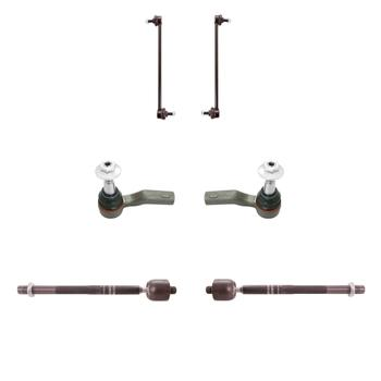 Steering Tie Rod End Kit - Front Inner and Outer (Driver and Passenger Side) (with Sway Bar Links) 3321715KIT Main Image