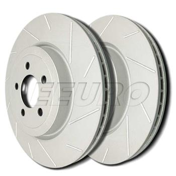 Disc Brake Rotor Set - Front (256mm) (ZRC Coated) (Slotted) T581324 Main Image