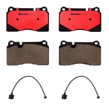 Brake Pad Set Kit - Front (Ceramic) (with Sensors) 2007352KIT Main Image