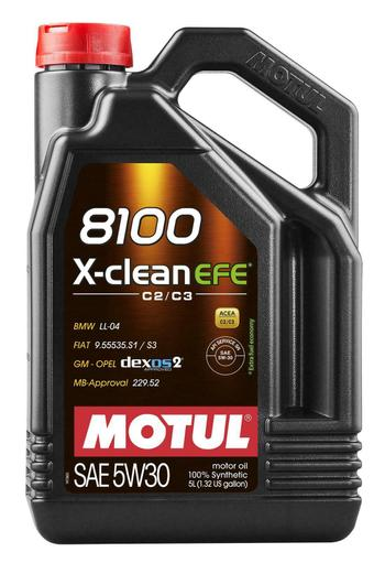 Engine Oil (5w30) (5 Liter) (X-Clean 8100) 109471 Main Image