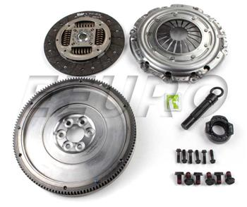 AUDI A4 CONVERTIBLE 1.8 T QUATTRO FLYWHEEL AND COMPLETE CLUTCH KIT