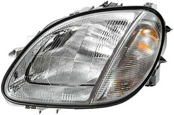 Headlight Assembly - Passenger Side (Halogen) 1708202861 Main Image