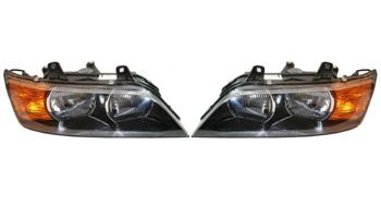 Headlight Set - Driver and Passenger Side (Halogen) (Amber Turn Signals) 2863480KIT Main Image