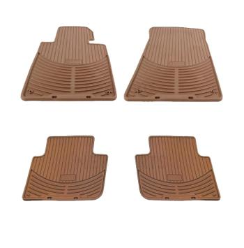 Floor Mat Set - Front and Rear (All Weather) (Rubber) (Beige) 4132144KIT Main Image