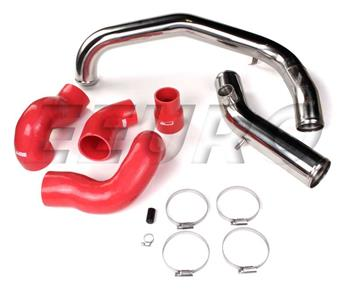 Intake Piping Kit (Red) prepped for BOV TRX70RUGMD Main Image