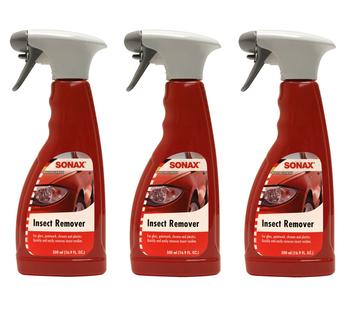 Bug and Insect Remover For Gloss Paintwork Chrome and Plastics (3 x 500ml Spray Bottles) 4132239KIT Main Image