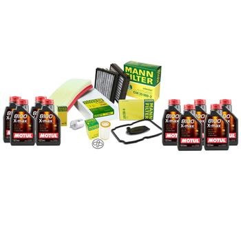 Engine Oil Change Kit (0W40) (9 Liter) (X-Max 8100) 3817280KIT Main Image