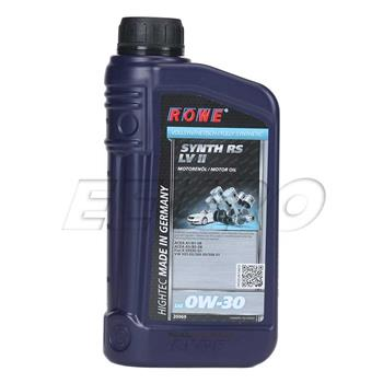 Engine Oil (HIGHTEC SYNTH RS LV II) (0W30) (1 Liter) 20069001003 Main Image