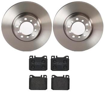 Disc Brake Pad and Rotor Kit - Front (300mm) (Low-Met) 3023876KIT Main Image
