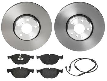 Disc Brake Pad and Rotor Kit - Front (348mm) (Low-Met) 1526954KIT Main Image