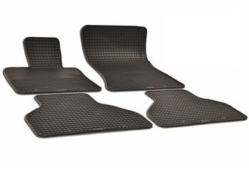 Floor Mat Set - Front and Rear (All-Weather) (Black) 215854FL Main Image