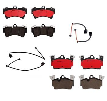 Brake Pad Set Kit - Front and Rear (Ceramic) 1552437KIT Main Image