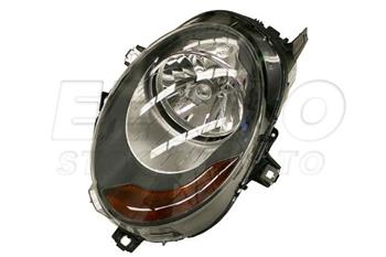 Headlight Assembly - Driver Side (Halogen) (w/ Amber Turnsignal) 63117401599 Main Image