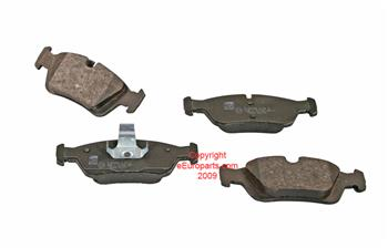 Disc Brake Pad Set - Front 34116761244F Main Image