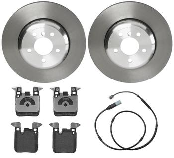 Disc Brake Pad and Rotor Kit - Rear (345mm) (Low-Met) 1532301KIT Main Image