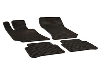 Floor Mat Set - Front and Rear (All-Weather) (Black) 216244 Main Image