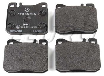 Disc Brake Pad Set - Front 0054204520 Main Image