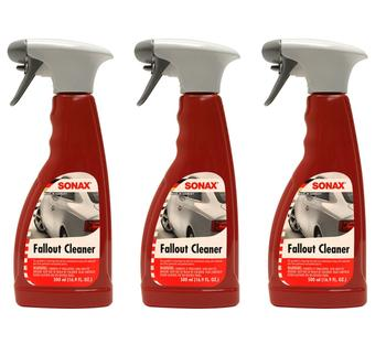Fallout Cleaner Contaminant Removal (3 x 500ml Spray Bottles) 4132235KIT Main Image