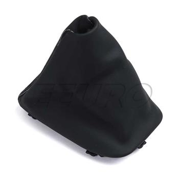 Auto Trans Shift Boot (Black) (Leather w/ Alcantara) 25162153761 Main Image