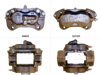 Disc Brake Caliper - Front Passenger Side 2202715R Main Image
