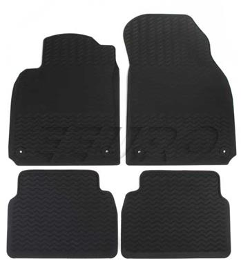 Floor Mat Set (All-Weather) (Black) 32026121 Main Image