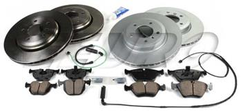 Disc Brake Kit (Complete) (e46 330Ci 330i 330xi) 100K10023 Main Image