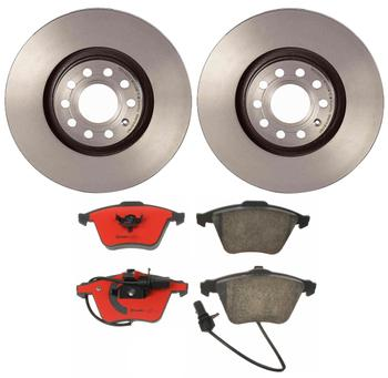 Disc Brake Pad and Rotor Kit - Front (320mm) (Ceramic) 1549018KIT Main Image
