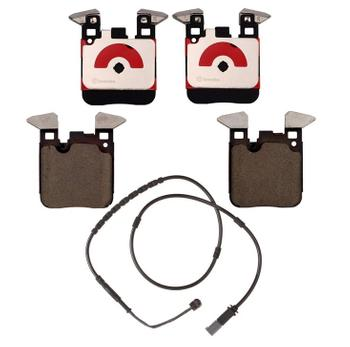 Brake Pad Set Kit - Rear (Low-Met) (with Sensor) 2652647KIT Main Image