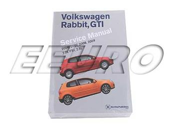 Repair Manual - Rabbit/GTI (A5) VR09 Main Image