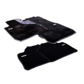 Floor Mat Set - Front and Rear (Carpeted) (Black) 4156354KIT Main Image