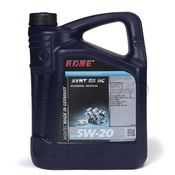 Engine Oil (HIGHTEC SYNTH RS HC) (5W20) (5 Liter) 20186005003 Main Image