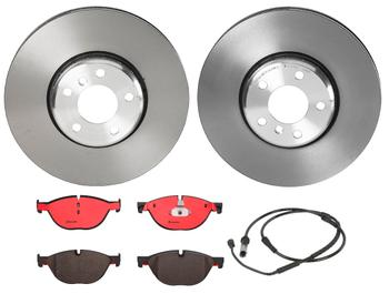 Disc Brake Pad and Rotor Kit - Front (348mm) (Ceramic) 1526920KIT Main Image