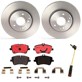 Disc Brake Pad and Rotor Kit - Front (288mm) (Ceramic) 1550345KIT Main Image