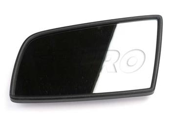Right Driver side Flat Wing door mirror glass for Citroen DS5 2011-2015