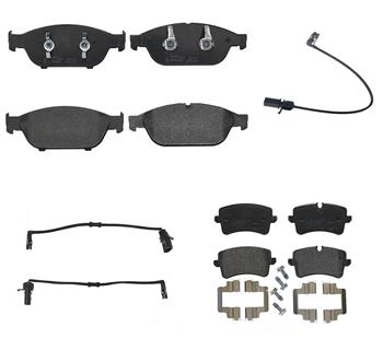Brake Pad Set Kit - Front and Rear (Low-Met) 3004114KIT Main Image