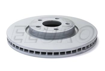 Stirling Note: 320mm 2014 For Audi Q5 Front Cross Drilled Slotted and Anti Rust Coated Disc Brake Rotors and Ceramic Brake Pads