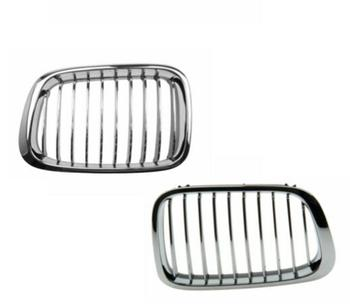 Grille - Front Driver and Passenger Side (Chorme) 4155530KIT Main Image