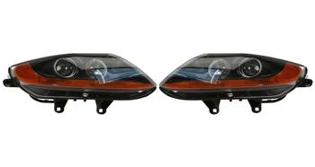 Headlight Set - Driver and Passenger Side (Halogen) (Amber Turn Signals) 2863565KIT Main Image