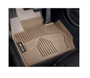 Floor Mat Set - Front and Rear (All Weather) (Rubber) (Beige) 4156331KIT Main Image