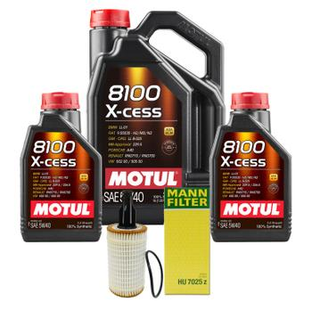 Engine Oil Change Kit (5W40) (7 Liter) (X-CESS 8100) 3102246KIT Main Image