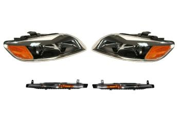 Headlight Set - Driver and Passenger Side (With Turn Signal Lights) 2007355KIT Main Image