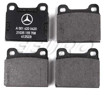 Disc Brake Pad Set - Rear 0014200620 Main Image