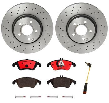 Disc Brake Pad and Rotor Kit - Front (322mm) (Ceramic) 1539878KIT Main Image
