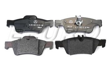 Disc Brake Pad Set - Rear 0074206720 Main Image