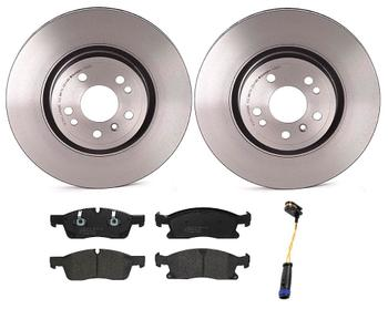 Disc Brake Pad and Rotor Kit - Front (330mm) (Low-Met) 1534904KIT Main Image