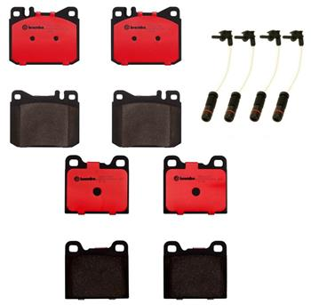 Brake Pad Set Kit - Front and Rear (Ceramic) 1562448KIT Main Image