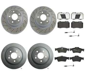 Disc Brake Pad and Rotor Kit - Front and Rear (312mm/300mm) (Low-Met) 1635210KIT Main Image