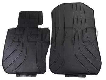 Floor Mat Set - Front (All-Weather) (Black) 51470427557 Main Image